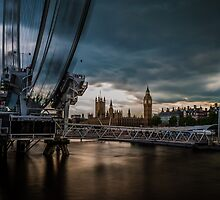 London Eye,London by dimitar74