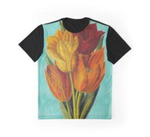 Vintage Tulips Graphic T-Shirt