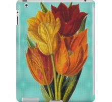 Vintage Tulips iPad Case/Skin
