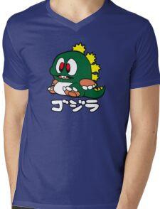 Baby Gojira Mens V-Neck T-Shirt