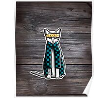 Gato Cholo - Cat with Attitude Poster