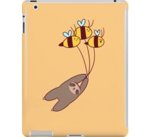 Sloth and Bumble Bees iPad Case/Skin