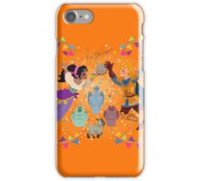 Esmeralda wall painting iPhone Case/Skin