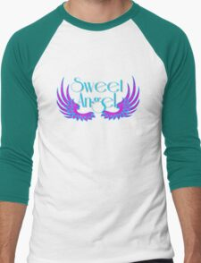 Sweet Angel with Wings Men's Baseball ¾ T-Shirt