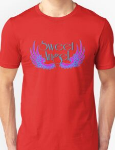 Sweet Angel with Wings Unisex T-Shirt