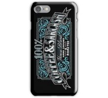 100% Coffee And Sarcasm iPhone Case/Skin