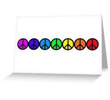 Peace Chakras Greeting Card