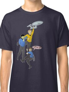 Boldly Go - Star Trek Triumvirate Classic T-Shirt