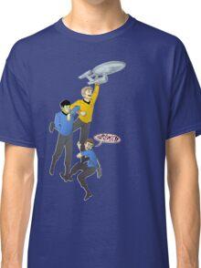 Boldly Go - Star Trek Triumvirate Classic T-Shirt