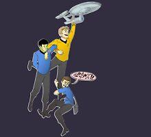 Boldly Go - Star Trek Triumvirate Womens Fitted T-Shirt