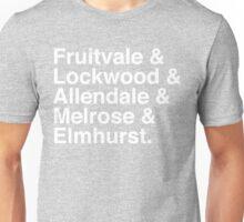 Bringing back the FLAME (White) Unisex T-Shirt