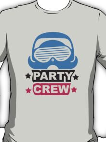 Cool Party Team Crew Member Penguin T-Shirt