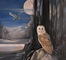 Owl Moon by Jane Delaford Taylor