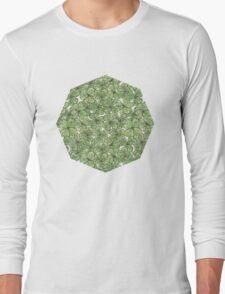 Green Clover Long Sleeve T-Shirt