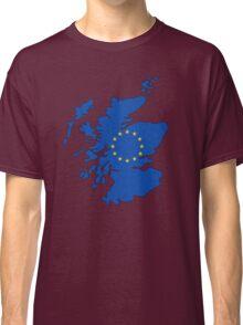 Scotland Map EU Classic T-Shirt