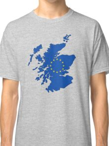 Scotland Map EU Classic T-Shirt