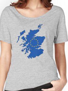 Scotland Map EU Women's Relaxed Fit T-Shirt