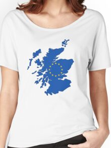 Scotland Map EU Women's Relaxed Fit T-Shirt