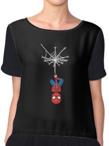 Pocket Spiderman Chiffon Top