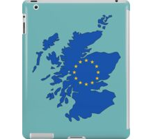 Scotland Map EU iPad Case/Skin