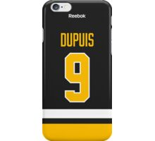 Pittsburgh Penguins Pascal Dupuis Jersey Back Phone Case iPhone Case/Skin