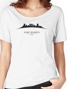 Fort Worth Texas Cityscape Women's Relaxed Fit T-Shirt
