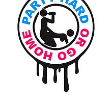 Stamp hard go home sex alcohol drinking by Style-O-Mat