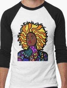 Afro Punk Men's Baseball ¾ T-Shirt