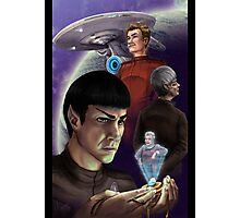 Star Trek - True Logic to the Universe Photographic Print