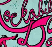 Rockabilly Doll Sticker