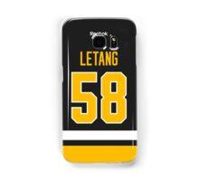 Pittsburgh Penguins Kris Letang Jersey Back Phone Case Samsung Galaxy Case/Skin