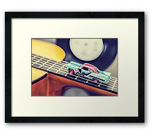 Rock & Roll Car Framed Print