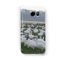 Snow geese family migrations Samsung Galaxy Case/Skin