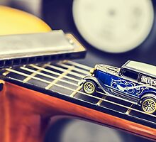 Blues Car by MMPhotographyUK
