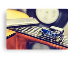 Blues Car Canvas Print