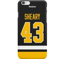 Pittsburgh Penguins Conor Sheary Jersey Back Phone Case iPhone Case/Skin
