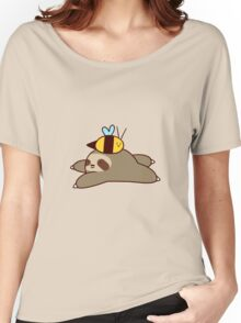 Sloth and Bee Women's Relaxed Fit T-Shirt