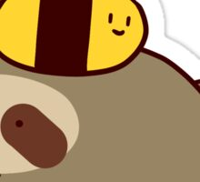 Sloth and Bee Sticker