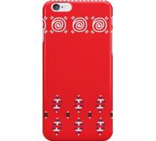 Original Red Slavic Folk Design ( Designers Fashion ) Luxury Collection iPhone Case/Skin