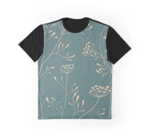 Cow parsnip  pattern Graphic T-Shirt