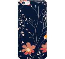 Wild plants and flowers iPhone Case/Skin