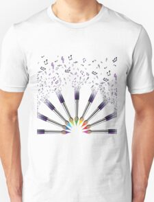 Paint The world with Music Unisex T-Shirt