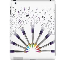 Paint The world with Music iPad Case/Skin