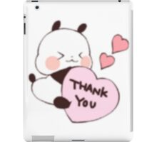 Love Yururinpanda iPad Case/Skin