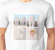 Peekaboo - Piggie Unisex T-Shirt