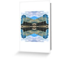 Architecture Mirrored & Reflected Greeting Card