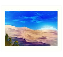 Light in the distance Art Print