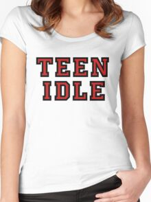 TEEN IDLE Women's Fitted Scoop T-Shirt