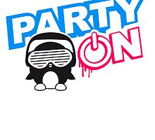 Party On Power Energie Logo by Style-O-Mat