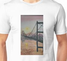San Francisco Golden Gate Bridge Painting Unisex T-Shirt
